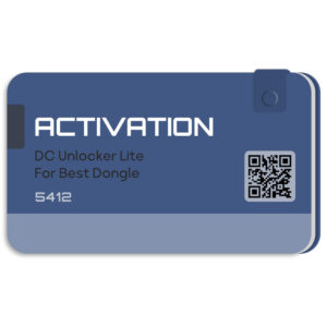لایسنس اورجینال فعال ساز و اکتیو DC-UNLOCKER بر روی دانگل BEST