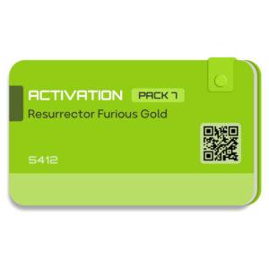 لایسنس اورجینال فعال ساز و اکتیو Resurrector پک 7 دانگل Furious Gold