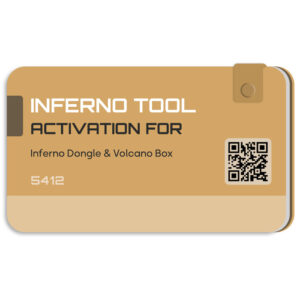 لایسنس اورجینال Inferno فعال ساز و اکتیو باکس Volcano