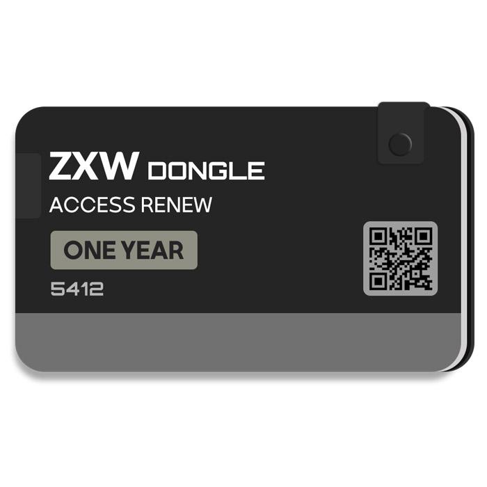 لایسنس یک ساله اورجینال فعال ساز و اکتیو دانگل ZXW