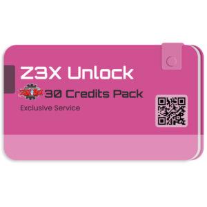 پک 30 عددی کردیت Z3X برای آنلاک شبکه سامسونگ