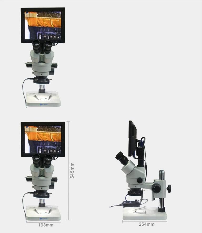 لوپ آنالوگ دیجیتال سه چشم سانشاین SZM45T-B1 مناسب تعمیرات برد گوشی