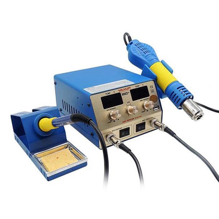 هیتر و هویه یاکسون Yaxun 886D دارای پورت USB و مناسب تعمیرات گوشی موبایل