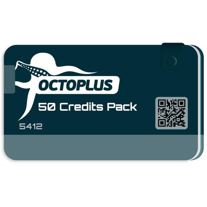 کردیت 50 عددی فعال ساز و اکتیو OCTOPUS و OCTOPLUS SERVER