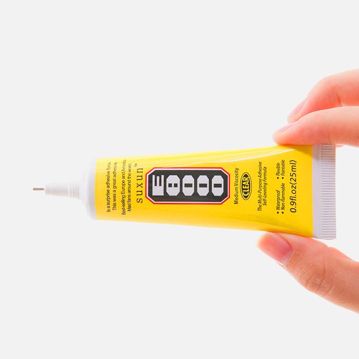 چسب E8000 ضد آب مناسب نصب تاچ و ال سی دی قاب و فریم گوشی موبایل