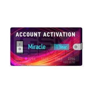 لایسنس اورجینال یکساله فعال ساز و اکتیو باکس MIRACLE