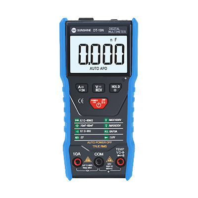 مولتی متر دیجیتالی Sunshine DT-19N مناسب تشخیص جریان کشی برد گوشی