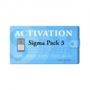 اکتیو پک ۳ باکس Sigma مناسب آنلاک FRP گوشی های هواوی و چینی