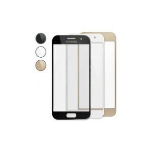 گلس سامسونگ Samsung A3 در سه رنگ طلایی، مشکی و سفید