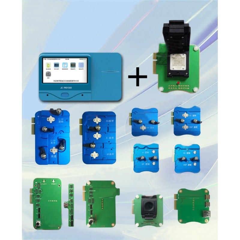 پروگرامر JC pro 1000 مناسب تعمیرات چیپ و هارد گوشی موبایل آیفون