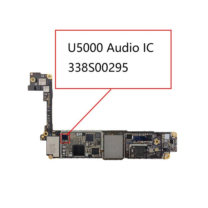 آی سی صدا ایفون ۳۳۸S00295 مناسب برد گوشی های موبایل ایفون ۸ ، +۸ و X