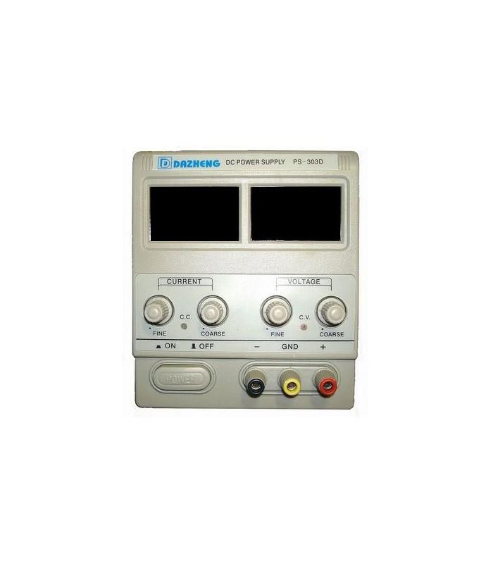منبع تغذیه داژنگ 3 آمپر مدل DAZHENG PS-303D مناسب تعمیرات گوشی های موبایل