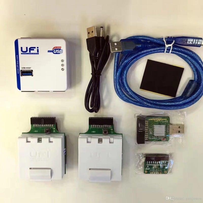 باکس UFI مناسب پروگرام انواع هارد وترمیم بوت کلیه برندهای گوشی موبایل