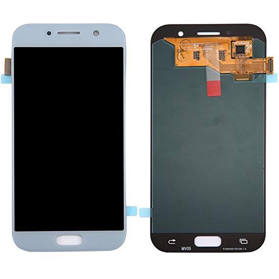 تاچ ال سی دی گوشی موبایل سامسونگ A520 (BLUE/SILVER)