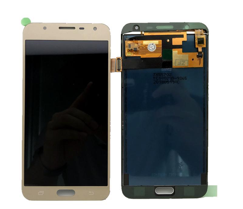 تاچ ال سی دی گوشی موبایل سامسونگ ای سی دار (gold) j701