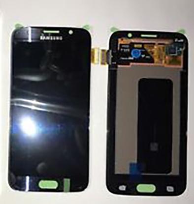 تاچ ال سی دی گوشی موبایل سامسونگ S6 (BLACK/BLUE)