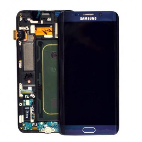 تاچ ال سی دی گوشی موبایل سامسونگ S6 EDGE (BLUE)