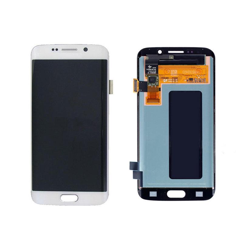 تاچ ال سی دی گوشی موبایل سامسونگ S6 EDGE (WHITE)