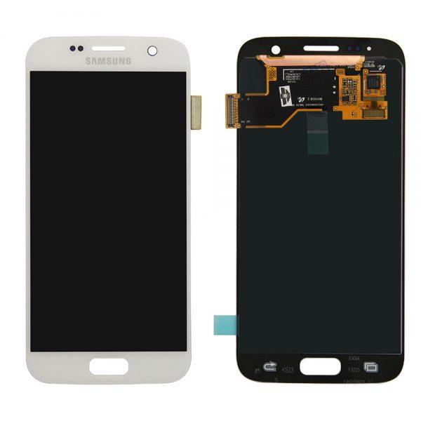 تاچ ال سی دی گوشی موبایل سامسونگ S7 (WHITE)