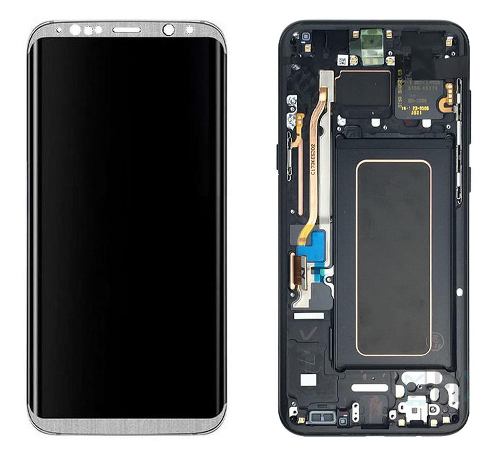 تاچ ال سی دی گوشی موبایل سامسونگ S8 (SILVER)