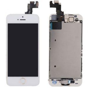 تاچ و ال سی دی چنج گلس گوشی موبایل آیفون +WHITE 8