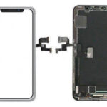 تاچ و ال سی دی چنج گلس گوشی موبایل آیفون X