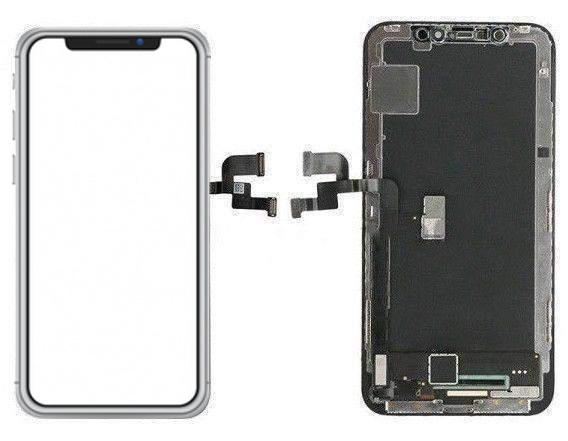 تاچ و ال سی دی اورجینال و اصلی گوشی موبایل آیفون X