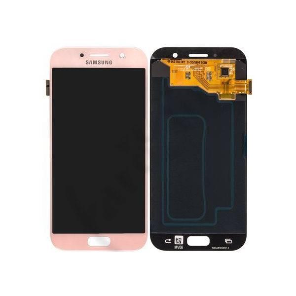 تاچ ال سی دی گوشی موبایل سامسونگ آی سی دارA520 (ROSE/GOLD)