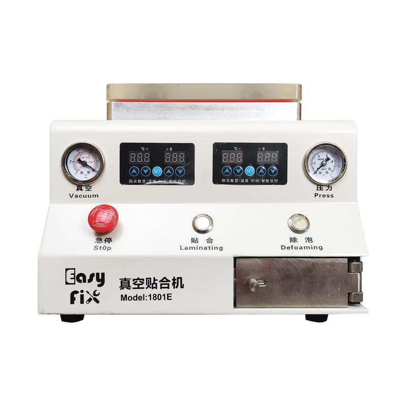 دستگاه لمینت Easyfix 1801E مناسب تعویض گلس و حباب گیری گوشی اج و فلت