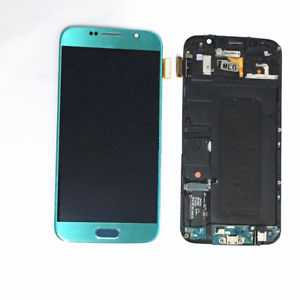 تاچ ال سی دی گوشی موبایل سامسونگ S6 (SKY BLUE)