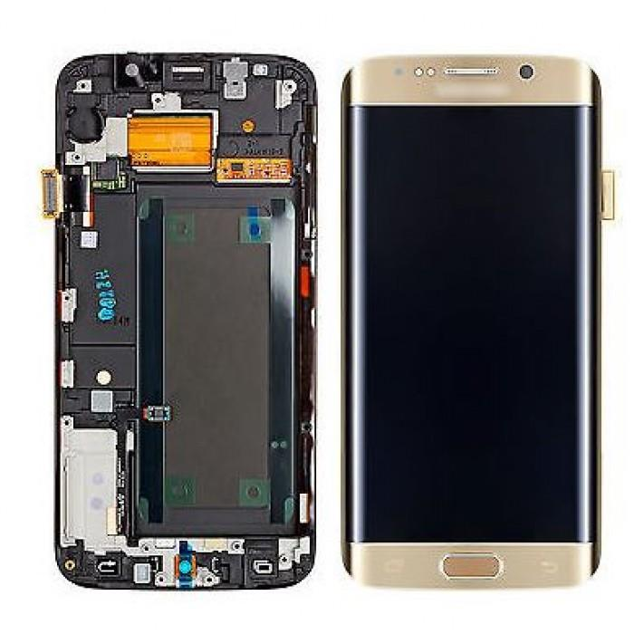 تاچ ال سی دی گوشی موبایل سامسونگ S7 EDGE (GOLD)