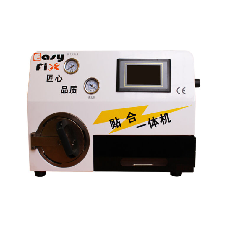 دستگاه لمینت EasyFix WDS مناسب تعویض گلس و حباب گیری گوشی اج و فلت