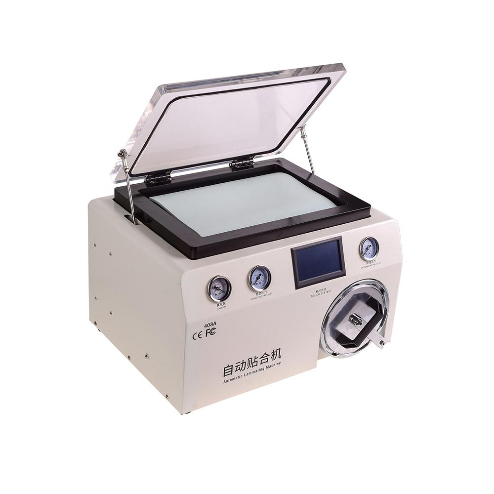 دستگاه لمینت Tbk-408A مناسب تعویض گلس پرس و حباب گیری موبایل اج و فلت