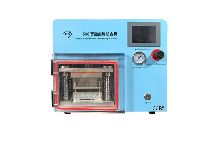 دستگاه لمینت TBK 508 مناسب تعویض گلس پرس و حباب گیری ال سی دی موبایل