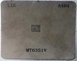 شابلون A464 مناسب آی سی تغذیه MT6351V برد گوشی موبایل سونی ،شیائومی و میزو