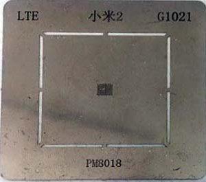 شابلون آی سی تغذیه PM8018 مناسب برد گوشی های موبایل آیفون 5 و 5S