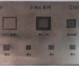 شابلون چندمنظوره G1034 مناسب آی سی های برد گوشی موبایل شیائومی 4
