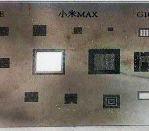 شابلون Xiaomi G1050 MAX مناسب پایه سازی آی سی های برد موبایل شیائومی