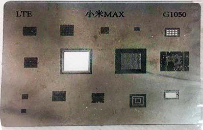 شابلون G1050 مناسب پایه سازی آی سی های برد موبایل شیائومی MAX