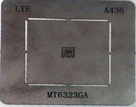 شابلون A436 مناسب آی سی تغذیه مدیاتک MT6323GA برد گوشی هواوی