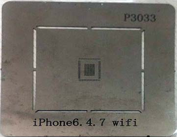 شابلون P3033 مناسب آی سی وای فای WIFI برد گوشی موبایل آیفون ۶ و +۶