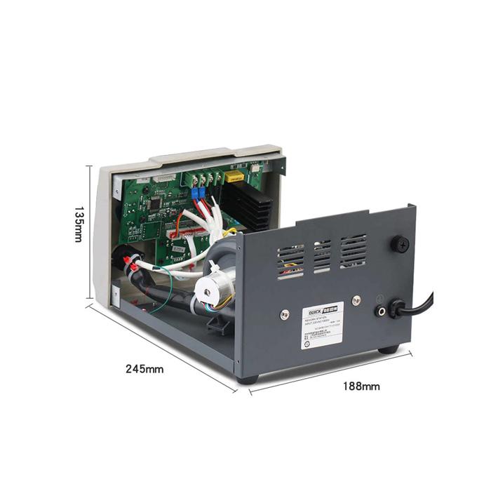 هیتر دیجیتال کوییک مدل QUICK 861DW مناسب لحیمکاری و تعمیرات گوشی موبایل