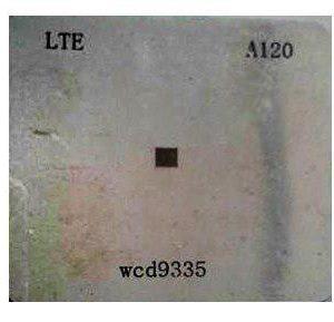 شابلون A120 مناسب آی سی صدا کوالکام WCD9335 برد گوشی سامسونگ S7