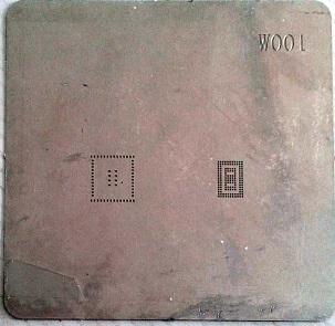 شابلون w001 مناسب آی سی تغذیه PM8028 برد گوشی موبایل آیفون ۴S