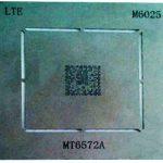 شابلون M6025 مناسب پایه سازی آی سی سی پی یو MT6572Aبرد گوشی هواوی