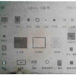شابلون آی سی P3012 مناسب پایه سازی IC برد گوشی های موبایل آیفون 5