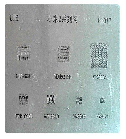 شابلون چند منظوره G1017 مناسب آی سی های برد گوشی های موبایل