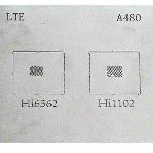 شابلون A480 مناسب پایه سازی و ریبال کردن آی سی های HI1102 و HI6362
