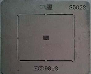 شابلون آی سی صدا HCD9818 مناسب برد گوشی موبایل سامسونگ S4