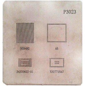 شابلون چند منظوره P3023 مناسب پایه سازی و ریبال آی سی های برد ipad4
